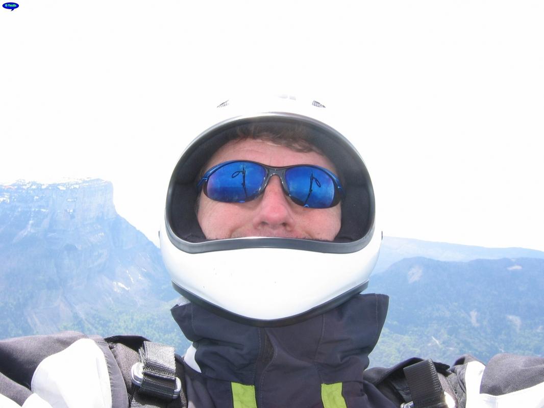 Autoportrait et Mont Granier