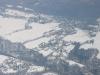Village de Margain sous la neige